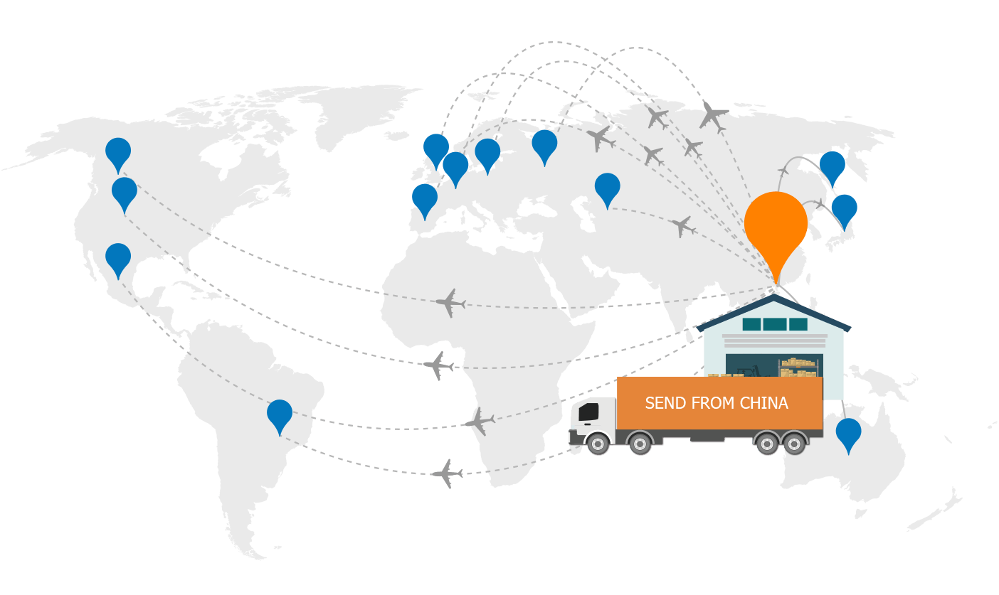 Crowdfunding Fulfillment - Global Shipping from China