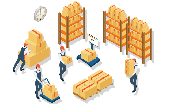 Pick and Pack Warehouse Service